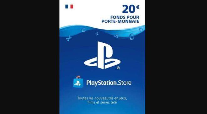Cartes Playstation Store Pas Chères 20 Euros
