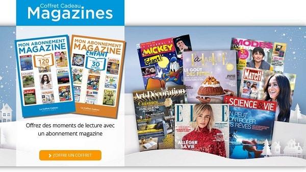Coffret Cadeau Abonnement Magazine Offrez Un Abonnement Magazine Au Choix