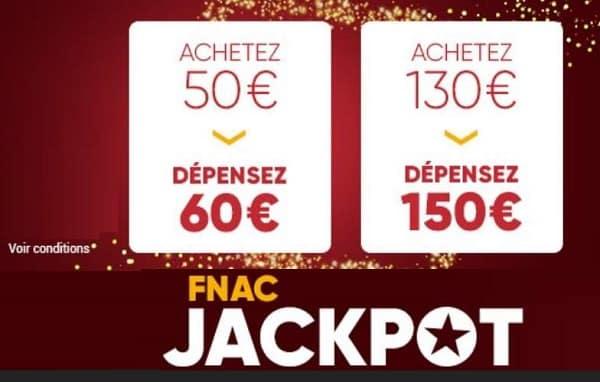 E Cartes Cadeaux Fnac Darty Jackpot