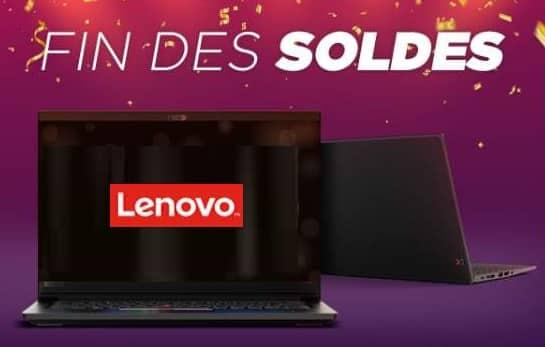 Fin Des Soldes Lenovo