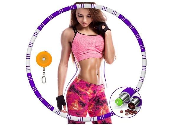 hula hoop de fitness + mètre ruban awroutdoor
