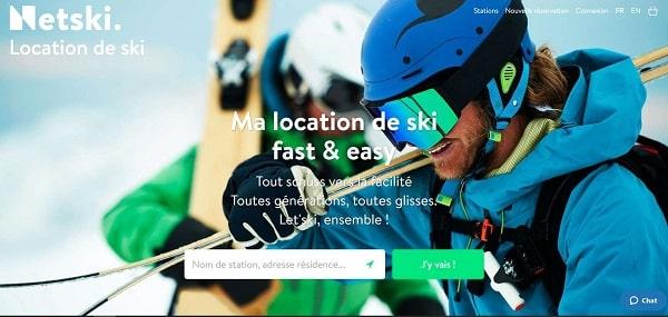 Location De Skis En Ligne Moins Chers Et Pratique Avec Netski