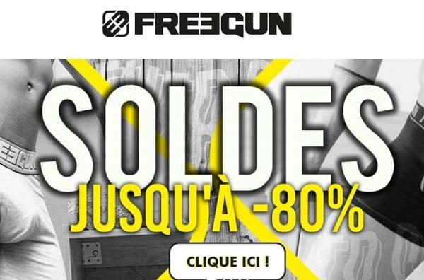 Nouvelle Démarque Freegun Et Remise Supplémentaire Sur Les Soldes