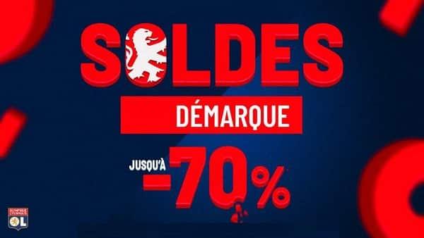 Nouvelle Démarque Sur La Boutique Olympique Lyonnais