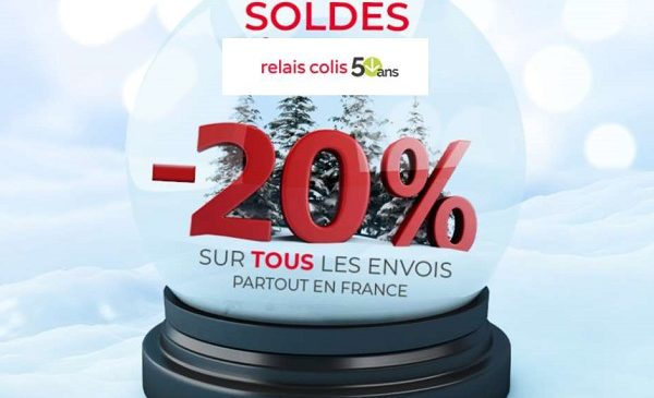 Pour Les Soldes Relais Colis Vous Offre Une Remise De 20%
