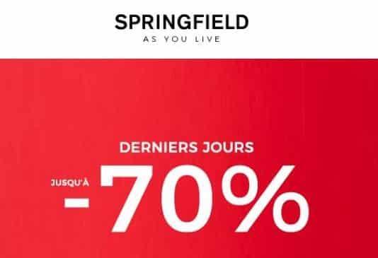 Remises finales Springfield : découvrez et profitez des dernières démarques