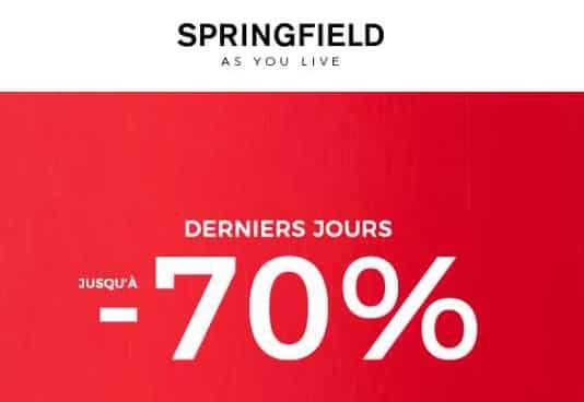 Remises Finales Springfield Découvrez Et Profitez Des Dernières Démarques