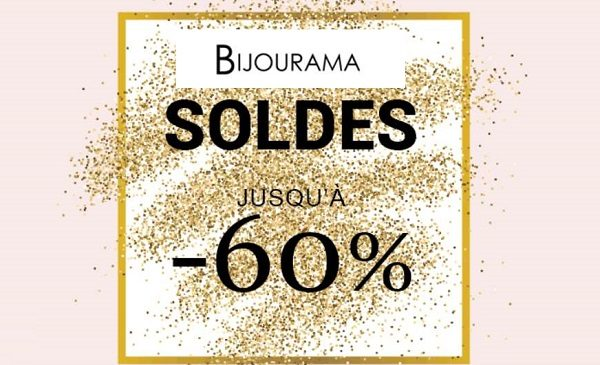 Seconde démarque des soldes sur Bijourama : jusqu'à -60% sur les bijoux, montres homme et femme et Pandora