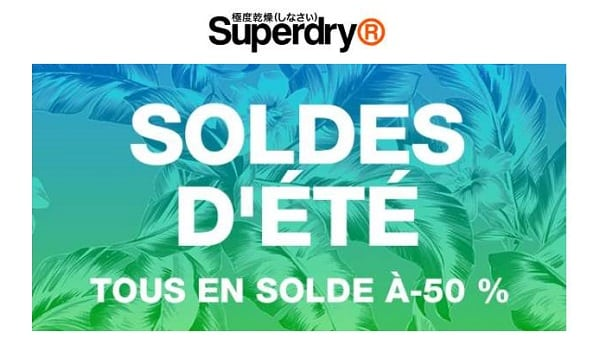 Soldes Superdry