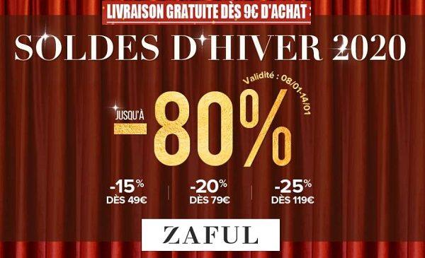 Soldes Zaful Jusqu'a 80% Sur La Mode