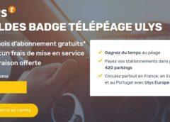Soldes badge télépéage : 6 mois offerts + la livraison gratuite du badge de Ulys by Vinci