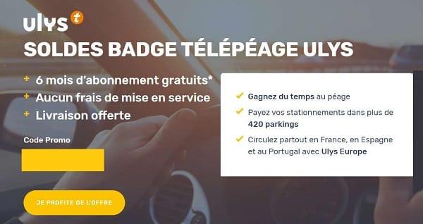 Soldes Badge Télépéage 6 Mois Offerts + La Livraison Gratuite Du Badge De Ulys By Vinci