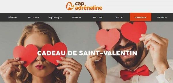 Spéciale Saint Valentin Offrez Des Activités De Loisirs & Adrénaline à Partager Avec Les Coffrets Cap Adrénaline