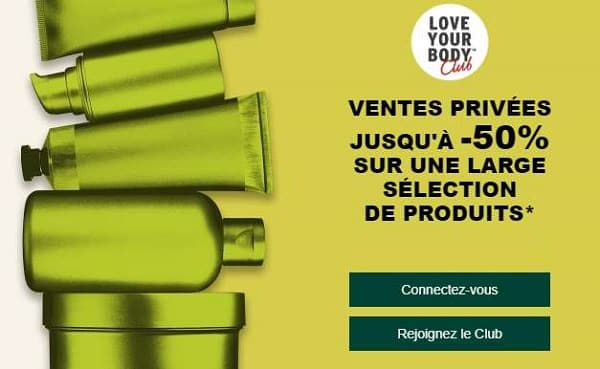 Vente Privée The Body Shop
