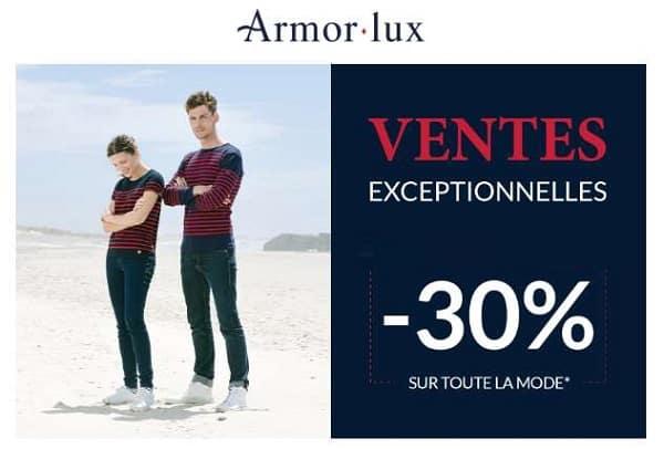 Vente Exceptionnelle Armor Lux