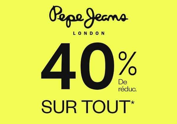 Vente Privée De Pré Soldes Pepe Jeans