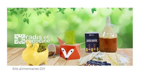 Vente Privée Kit Diy Radis & Capucine