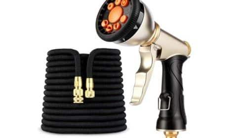 Kit Arrosage Tuyau Extensible Jusqu'à 30 Mètres Pistolet 9 Jets Amzdeal