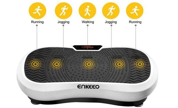 Plateforme Vibrante Oscillante Fitness Musculation Enkeeo