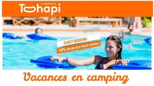 Remise Sur Votre Séjour En Camping Cet été Avec Tohapi (early Booking)