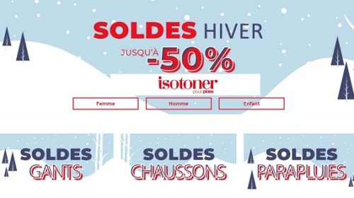 Soldes Isotoner Jusqu'à 50% De Remise Sur Les Gants, Chaussons, Bonnets, écharpes, Parapluies