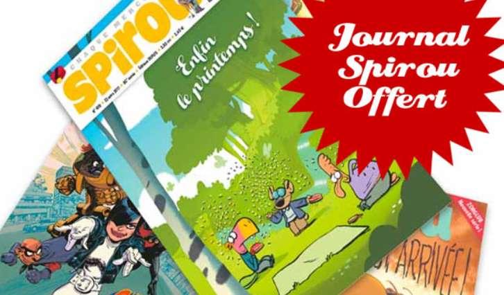 1 Journal Spirou Gratuit Pour L'achat D'1 Bd