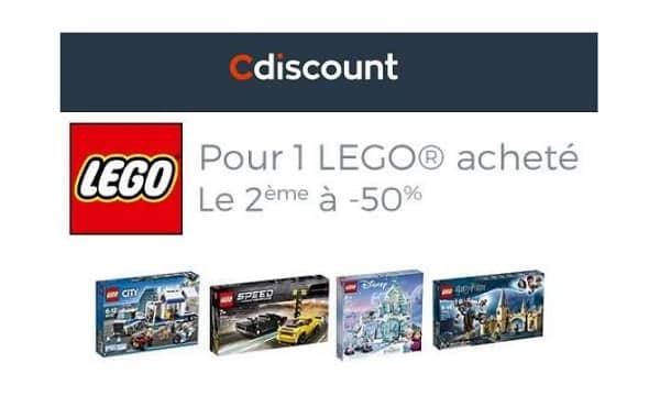 1 Boite De Lego Achetée = La Seconde à Moitié Prix Sur Cdiscount