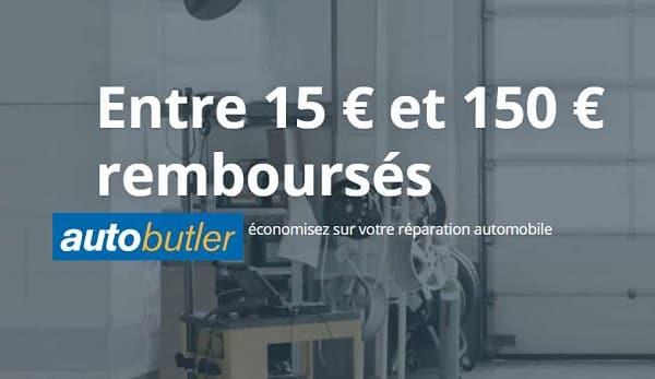 15€ à 150€ Remboursés Sur La Réparation De Votre Voiture Avec Autobutler