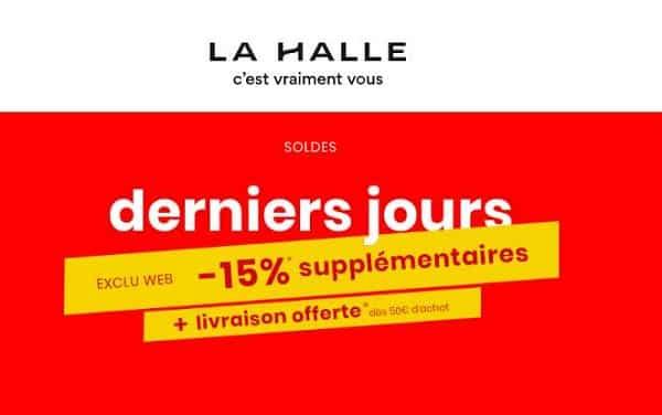15% En Plus Sur Les Articles Des Soldes Sur La Halle