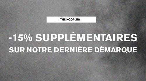 15% Remise Supplémentaire Sur La Dernière Démarque The Kooples