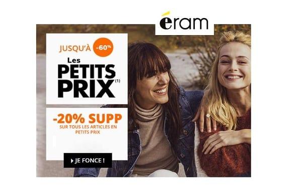 20% De Remise Supplémentaire Sur Les Petits Prix (promo) Eram