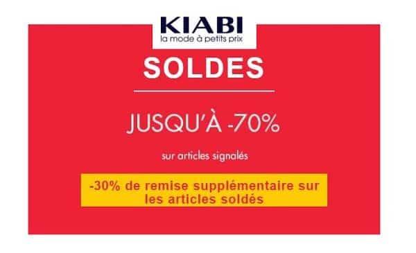 30% Remises Supplémentaires Sur Les Soldes Kiabi