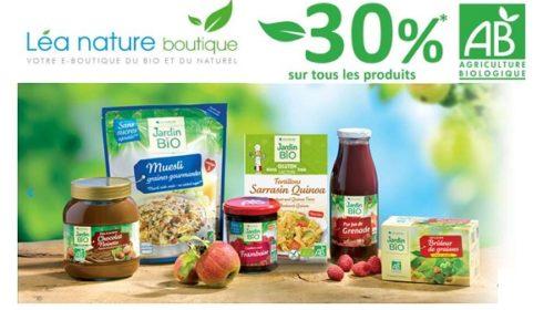30% Sur Les Produits Label Agriculture Biologique (ab) De Lea Nature