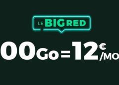 ALERTE BON PLAN FORFAIT ! BIG RED SFR 100Go = 12€ avec appels, SMS et MMS illimité (A VIE)