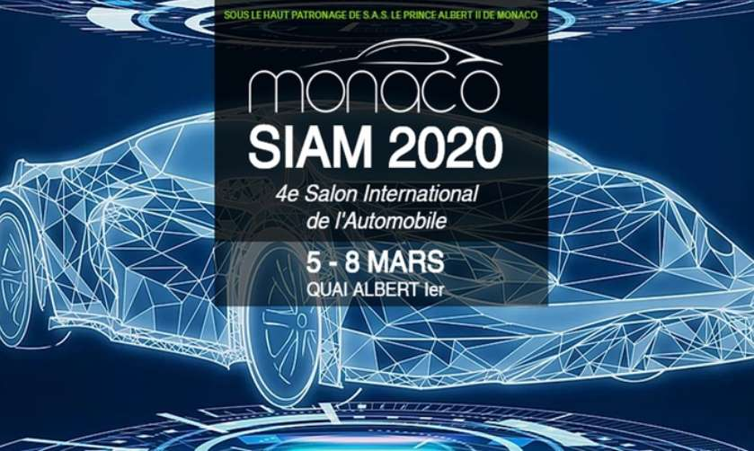 Billet Salon International De L'automobile De Monaco Moins Cher