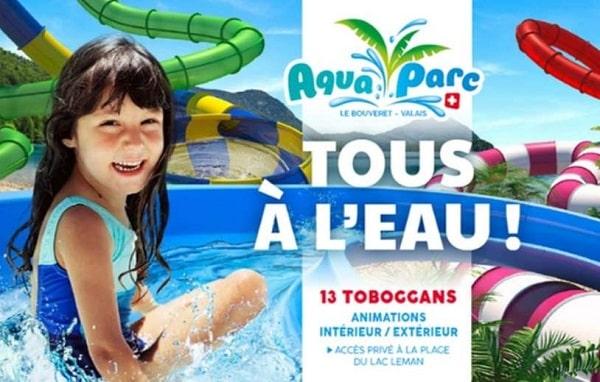 Billet Parc Aquatique Aquaparc Pas Cher