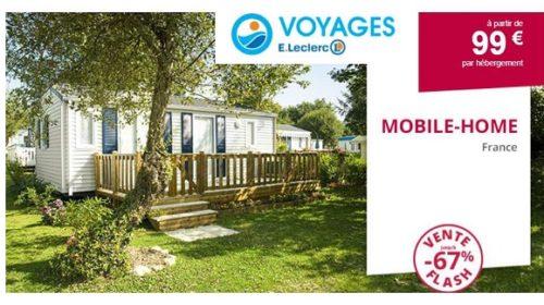 Hébergement En Camping à Partir De 99€ Les 7 Nuits En France Offre Flash Voyages E.leclerc