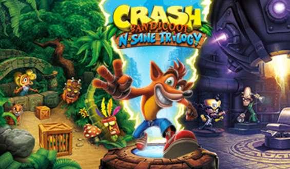 Jeu Vidéo Crash Bandicoot N. Sane Trilogy Pc Pas Cher