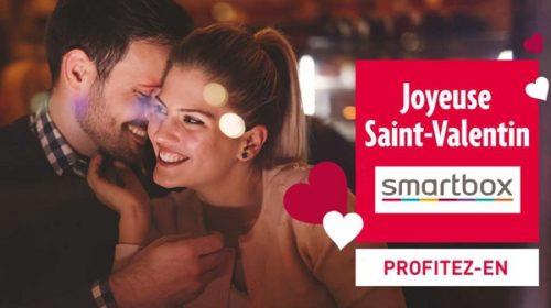 Offre Flash Saint Valentin Coffret Cadeau Smartbox