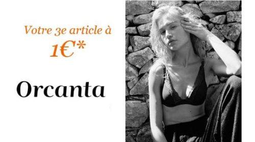 Offre Prix Doux Orcanta 2 Articles Achetés = Le Troisième à 1€
