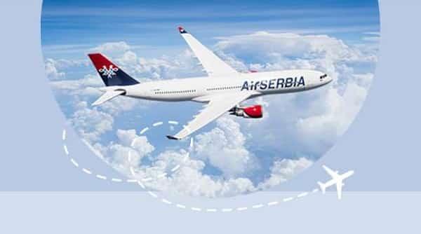 Offre Spéciale Billet D'avion Air Serbia
