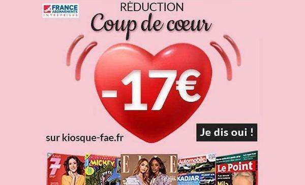 Saint Valentin Offrez Un Abonnement Magazine Pas Cher Grâce à Une Remise Supplémentaire