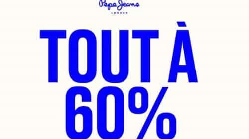 Tout à 60% Pour Les Derniers Jours Des Soldes Pepe Jeans
