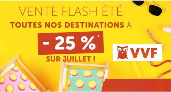 Vente Flash Sur Les Vacances D'été Vvf