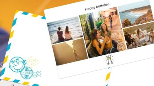 Carte De Vœux, Carte Postale Ou Carte D'anniversaire Envoyée Pour Moins Cher Avec Fizzer
