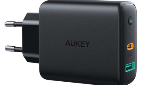 Chargeur Usb Power Delivery 30w (ports Usb C & Usb A) Dynamic Detect Aukey Pa D1