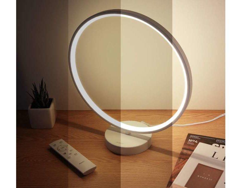 Lampe De Chevet Anneau Led Aukey Avec Télécommande