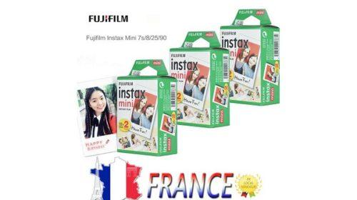 Lot De 60 Papiers Photo Instantané Fujifilm Instax Mini