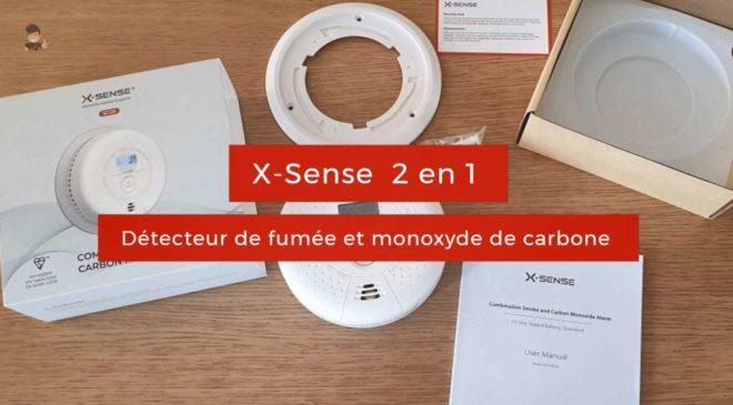 Presentation Détecteur De Fumée Et De Monoxyde De Carbone X Sense