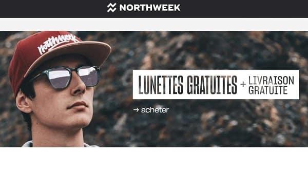 1 Paire De Lunette De Soleil Northweek Gratuite